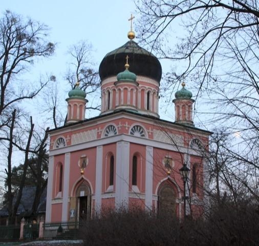 Russ.orthodoxe Kirche in Potsdam